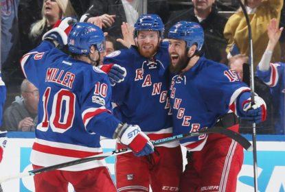 Dominantes, Rangers goleiam Senators, vencem o jogo 4 e empatam série - The Playoffs