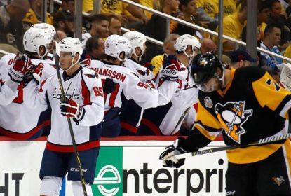 Washington Capitals derrota Pittsburgh Penguins e força o decisivo jogo 7 - The Playoffs