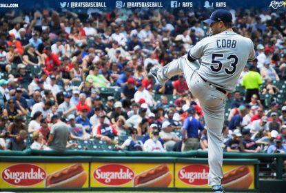 Tampa Bay Rays vence Cleveland Indians, com ótima atuação de Alex Cobb - The Playoffs