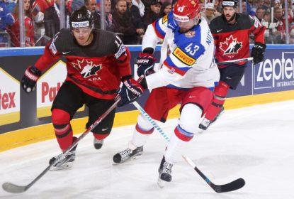 Com final arrasador, Canadá vence Rússia e está na final do Mundial de Hóquei - The Playoffs