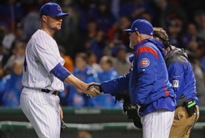 Cubs superam Giants no Wrigley Field em noite de jogo completo de Jon Lester - The Playoffs