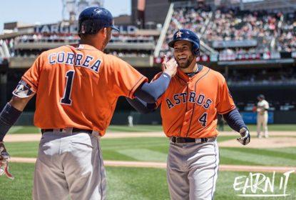 Em partida com 31 rebatidas válidas, Houston Astros atropela Minnesota Twins - The Playoffs