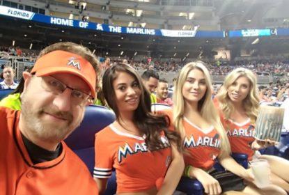 Marlins Man toma bronca por conduta de amiga em jogo - The Playoffs