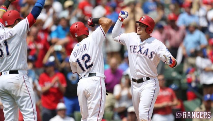 Texas Rangers vence Philadelphia Phillies por 8 a 4