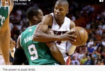 Paul Pierce posta foto com Ray Allen e sugere que ex-companheiros reatem relação - The Playoffs
