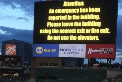 Erro gera pedido de evacuação em jogo dos Braves - The Playoffs
