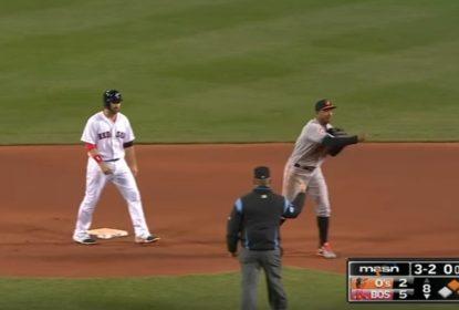 Baltimore Orioles faz triple play inusitada sobre Boston Red Sox - The Playoffs