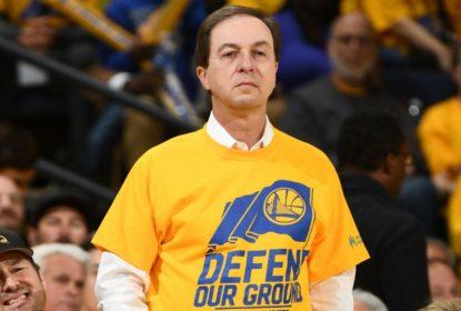 Proprietário dos Warriors revela preferência por enfrentar os Cavs na final - The Playoffs