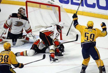 Josi faz gol decisivo, Predators derrotam Ducks e lideram final do Oeste - The Playoffs