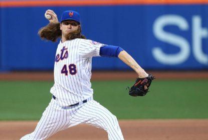Com grande noite de Jacob deGrom, NY Mets vence LA Angels - The Playoffs