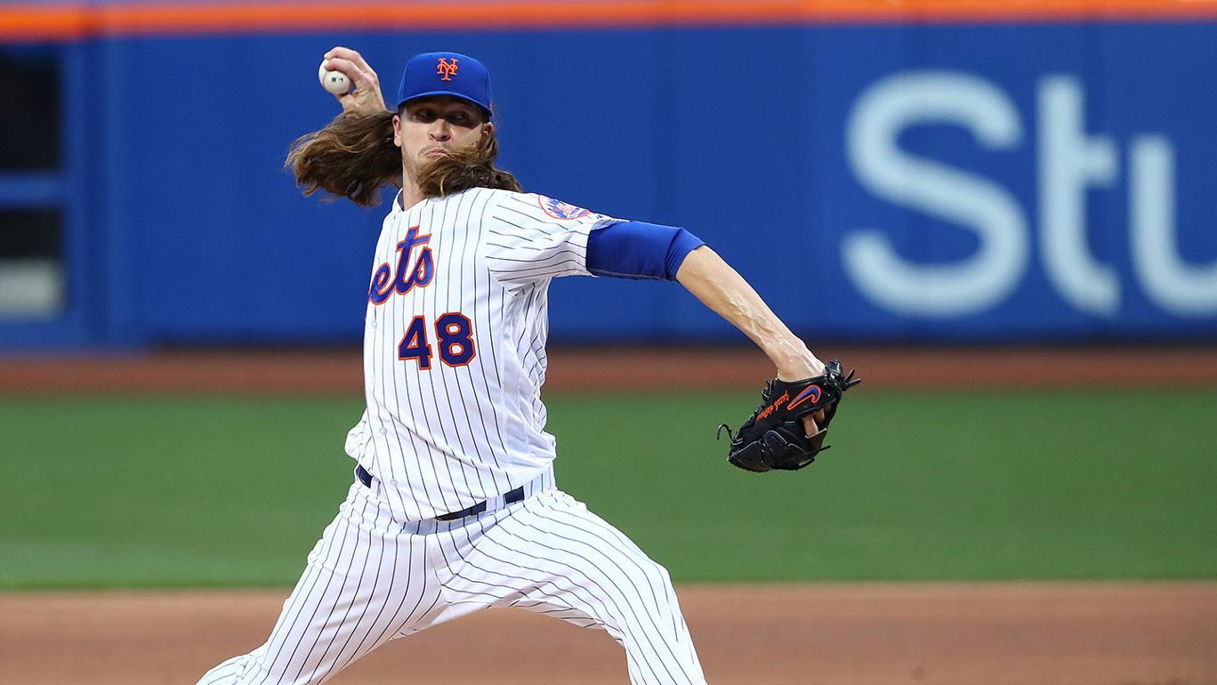 Em grande noite de Jacob deGrom, NY Mets vence LA Angels