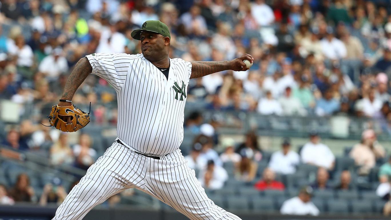 Yankees vencem Athletics com nove strikeouts de C.C. Sabathia
