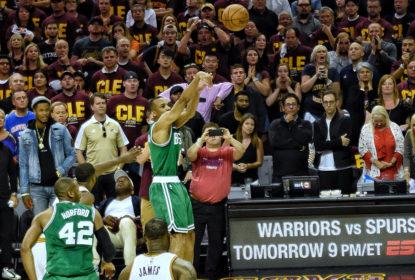 Com bola vencedora de Bradley, Celtics surpreendem e vencem Cavaliers - The Playoffs