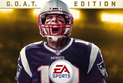 EA Sports revela Tom Brady na capa do Madden 18 - The Playoffs