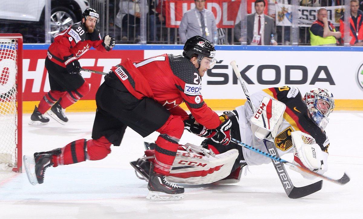 Canadá vence jogo duro contra Alemanha e avança no Mundial de Hóquei