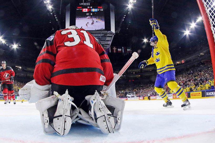Suécia derrota Canadá no shootout e conquista o Mundial de Hóquei