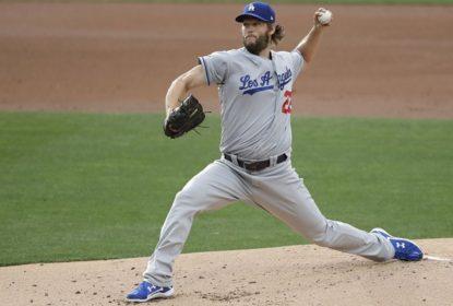 Kershaw comanda os Dodgers em vitória larga sobre os Padres - The Playoffs