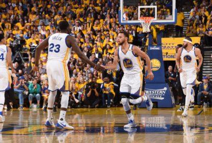 Com ótimo 1º tempo, Warriors dominam Spurs e fazem 2-0 na série - The Playoffs