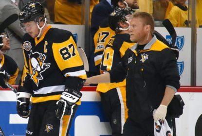 Sidney Crosby volta ao gelo após ser diagnosticado com concussão - The Playoffs