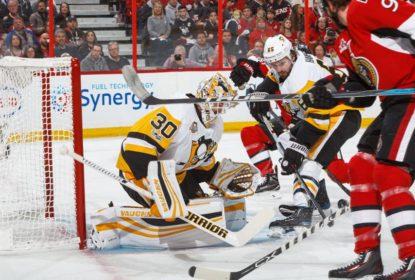 Em ótima partida de Matt Murray, Penguins vencem Senators e igualam série - The Playoffs
