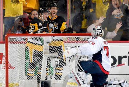 Sem Crosby, Penguins vencem Capitals e ficam a uma vitória da próxima fase - The Playoffs