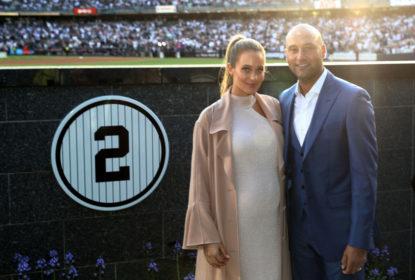 Derek Jeter tem camisa 2 aposentada, mas Astros estragam festa dos Yankees - The Playoffs