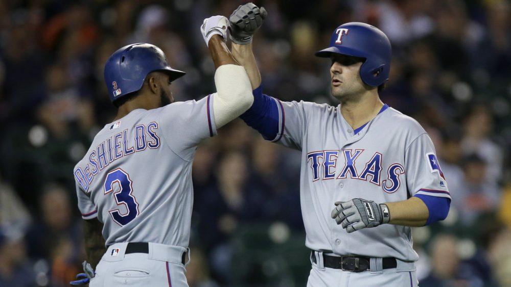 Texas Rangers vence Detroit Tigers na MLB