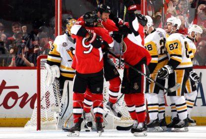 Senators aplicam goleada sobre Penguins e abrem 2-1 na final do Leste - The Playoffs