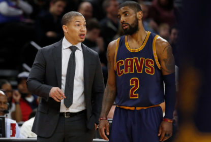 Tyronn Lue estaria interessado em treinar Kyrie Irving no Nets - The Playoffs