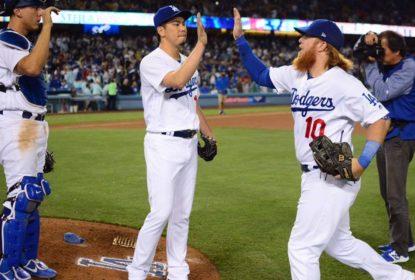 Agora no bullpen, Kenta Maeda consegue 1° save da carreira em vitória dos Dodgers - The Playoffs