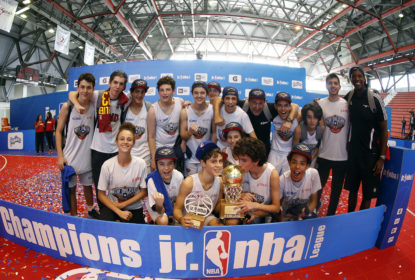Colégio Bandeirantes / New Orleans Pelicans é campeão da Jr NBA League - The Playoffs