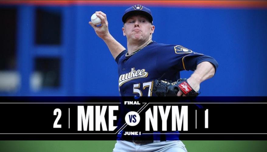 Brewers vencem Mets por 2 a 1 em jogo com lance polêmico