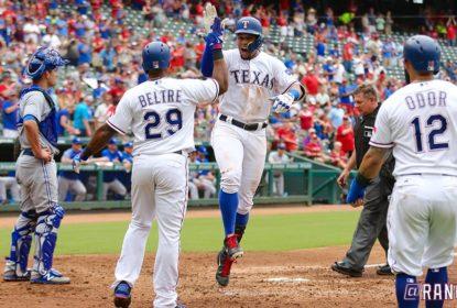 Com rebatedores inspirados, Texas Rangers atropela Toronto Blue Jays - The Playoffs