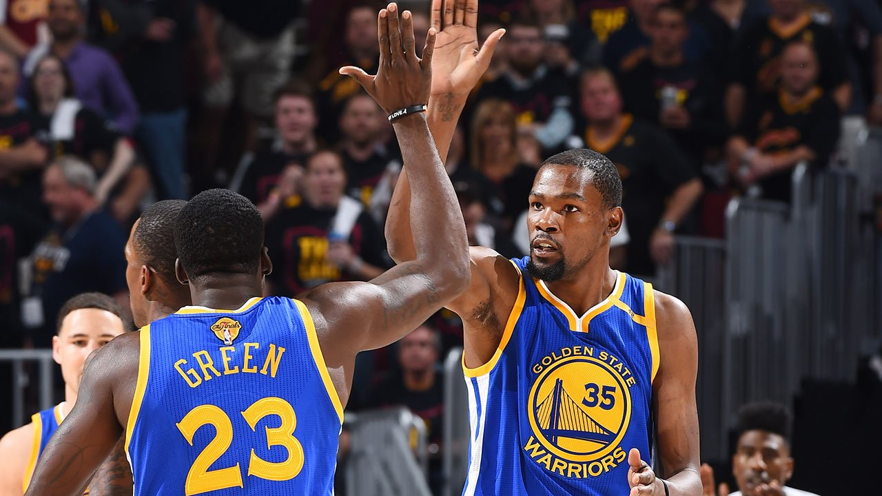 Draymond Green - Kevin Durant - Golden State Warriors
