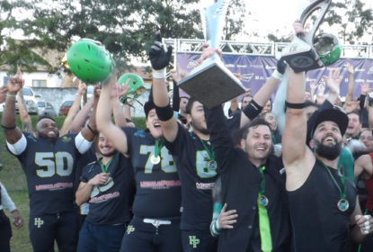 Paraná HP é bicampeão invicto do Campeonato Paranaense de Futebol Americano - The Playoffs
