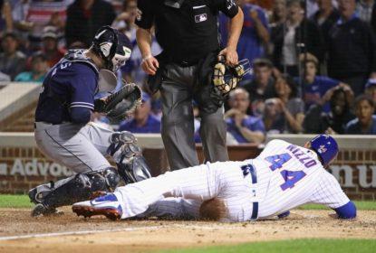 Cubs e Padres divergem sobre trombada de Rizzo - The Playoffs