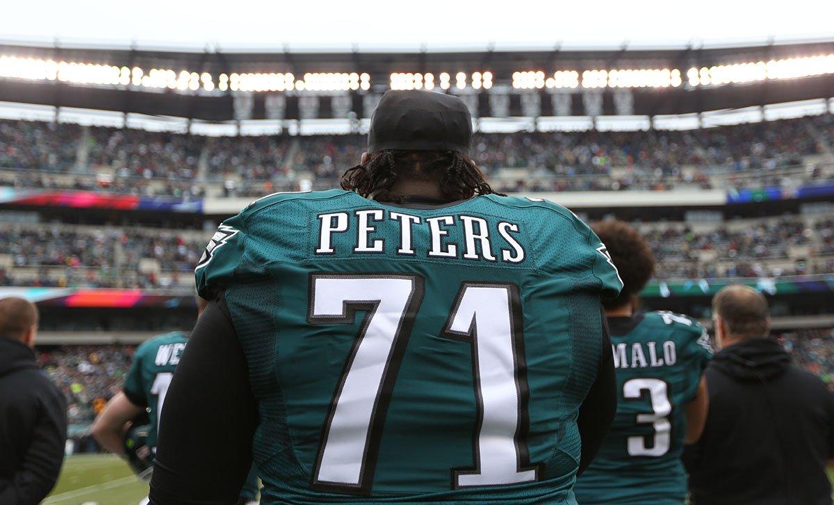 Jason Peters renova com os Eagles