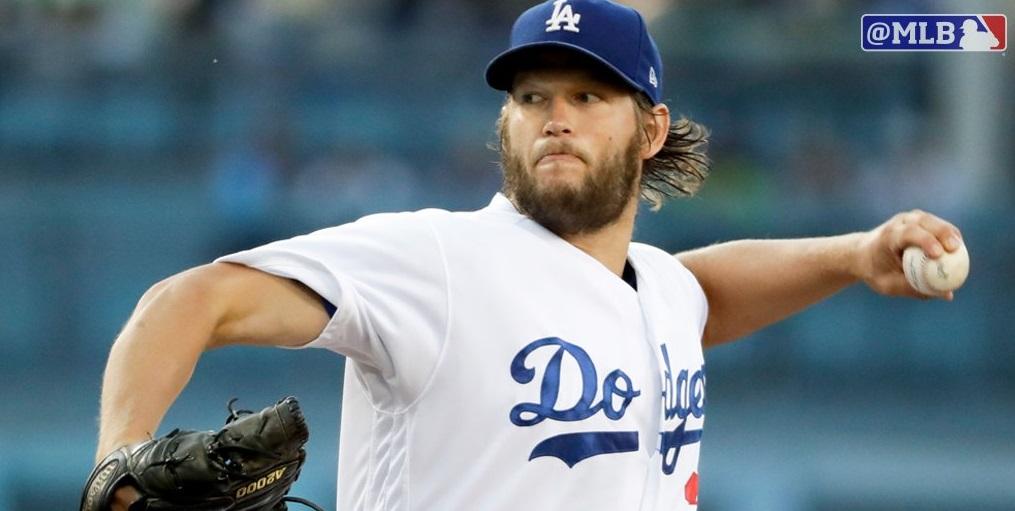 Com show de Clayton Kershaw, Los Angeles Dodgers é a primeira franquia da NL a chegar a 50 vitórias