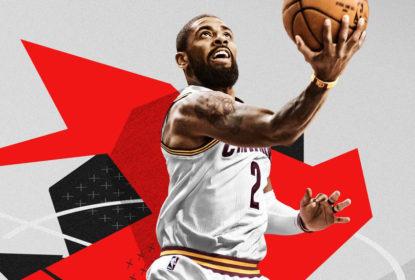 Kyrie Irving ilustra capa do próximo jogo de videogame NBA 2K - The Playoffs