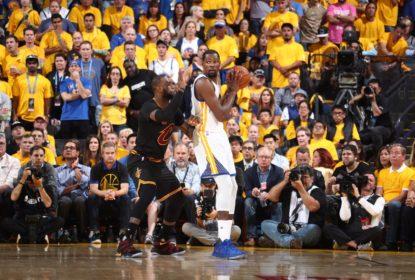 'Ele é a única pessoa que eu estava olhando desde 2012', disse Kevin Durant sobre LeBron James - The Playoffs