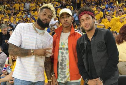 Neymar mostra novo mural em quadra de basquete particular - The Playoffs
