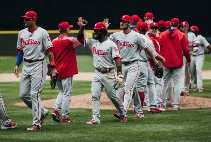 Em jogo com cinco home runs, Philadelphia Phillies bate Seattle Mariners - The Playoffs