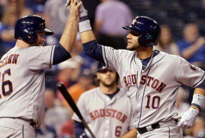 McCann e Gurriel se destacam em vitória dos Astros sobre os Royals - The Playoffs