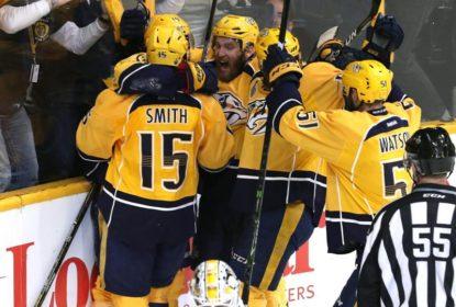 Em ótima atuação de sua defesa, Predators vencem Penguins - The Playoffs