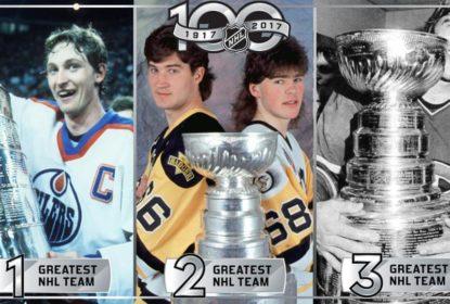 Fãs da NHL elegem Edmonton Oilers de 1984-85 como melhor time da história - The Playoffs