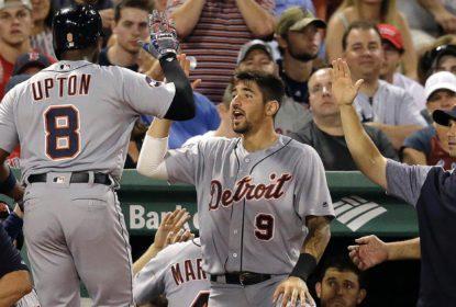 Grand slam de Justin Upton impulsiona vitória dos Tigers contra Red Sox - The Playoffs