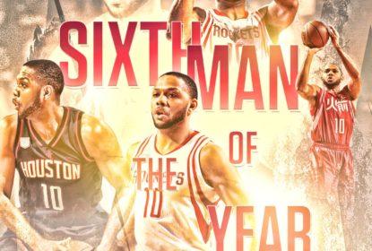 Eric Gordon é eleito o melhor sexto homem da temporada regular - The Playoffs