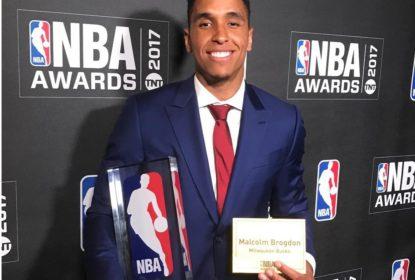Malcolm Brogdon é eleito o Calouro do Ano da temporada 2016/2017 da NBA - The Playoffs