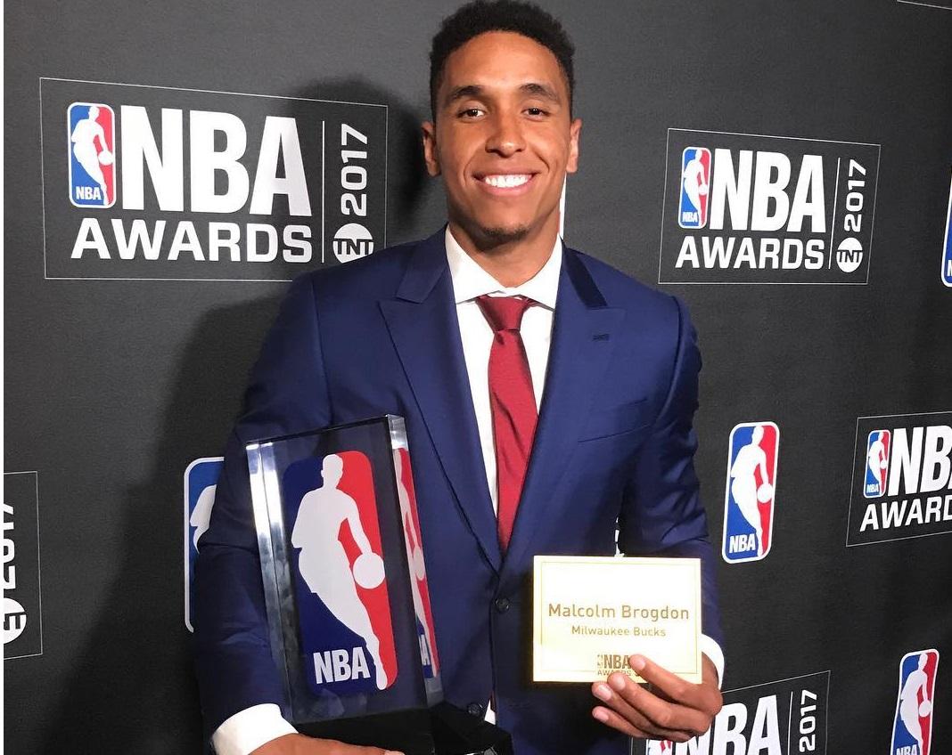 Malcolme Brogdon é eleito o Calouro do Ano da temporada 2016/2017 da NBA