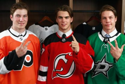 Nico Hischier é escolhido pelos Devils como nº1 do Draft da NHL - The Playoffs